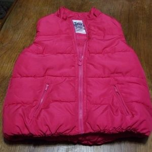 Justice Size 14 Puffer Vest